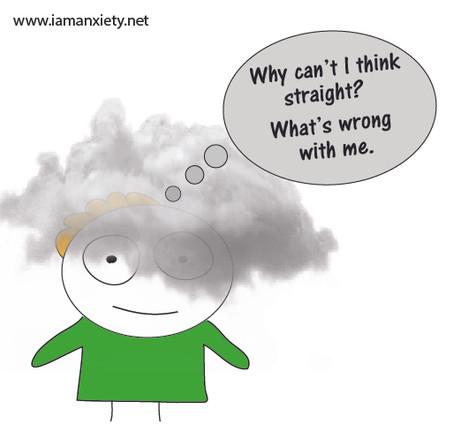 Understanding anxiety Brain Fog