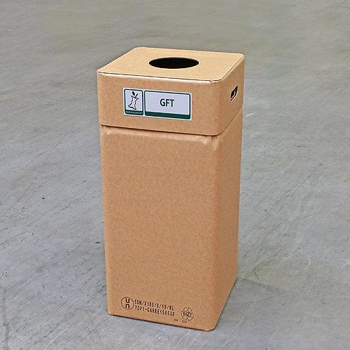 Kartonnen afvalbak GFT