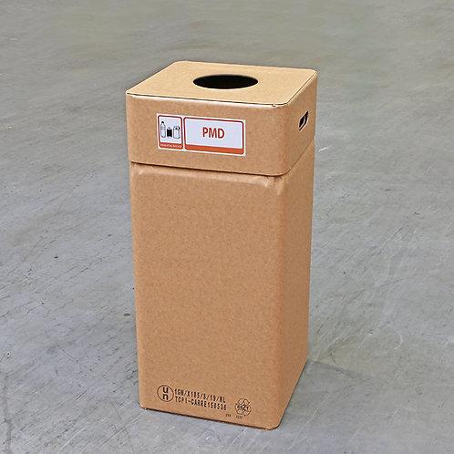 Kartonnen afvalbak PMD