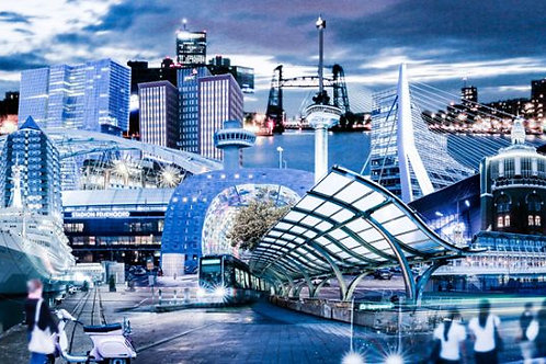 Rotterdam Twillight City