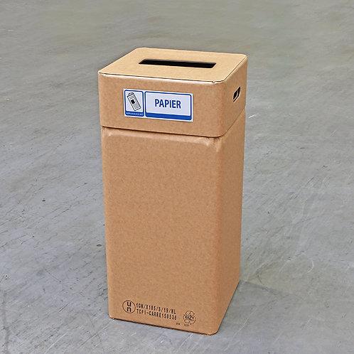 Kartonnen afvalbak papier