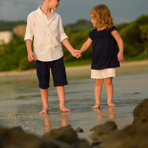 Brother and Sister Love in Tamarindo Costa Rica