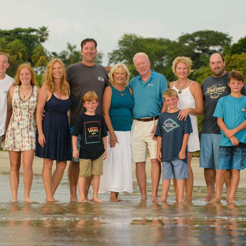 Professional Family portraits in Costa Rica