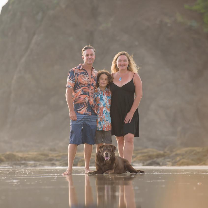 Family Photo Shoot near Tamarindo, Costa Rica