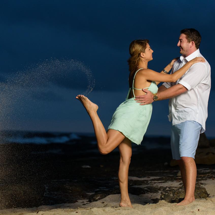 Tamarindo engagement photoshoot