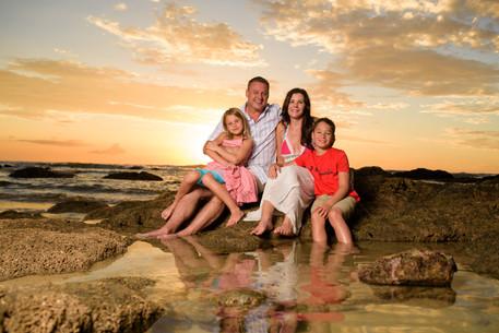 Professional family portraits Tamarindo