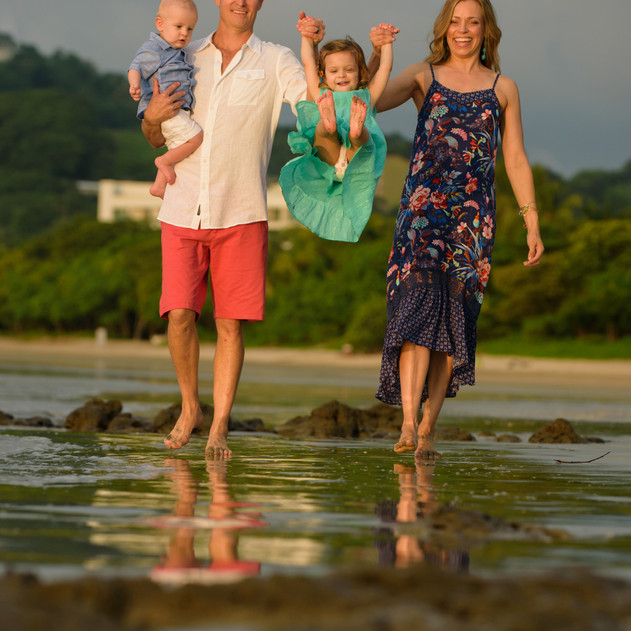 Family Photography at its finest in Tamarindo Costa Rica