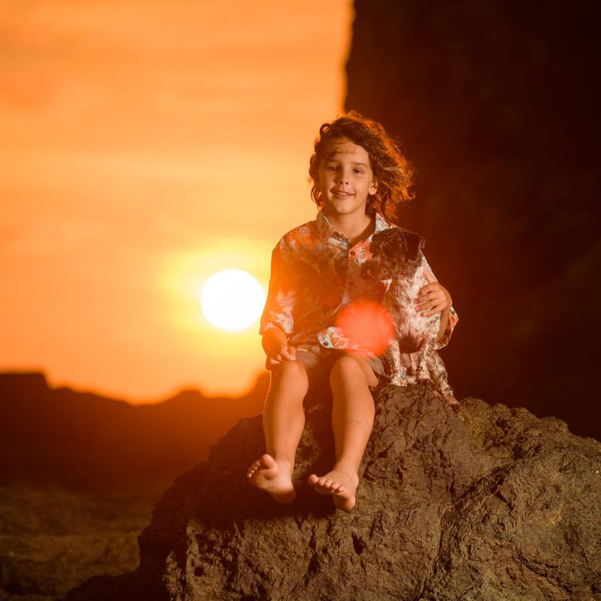 Sunset photoshoot ideas in Costa Rica