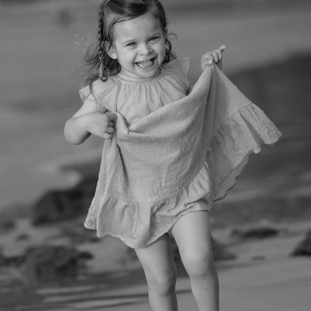Costa Rica Photo Shoot With This Cutie--Black and White Photography