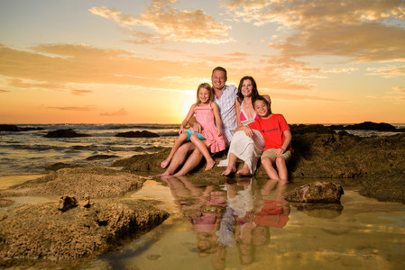 Amazing family photographs in Costa Rica