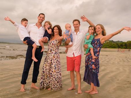 Fun Family & Friend Photoshoot in Costa Rica
