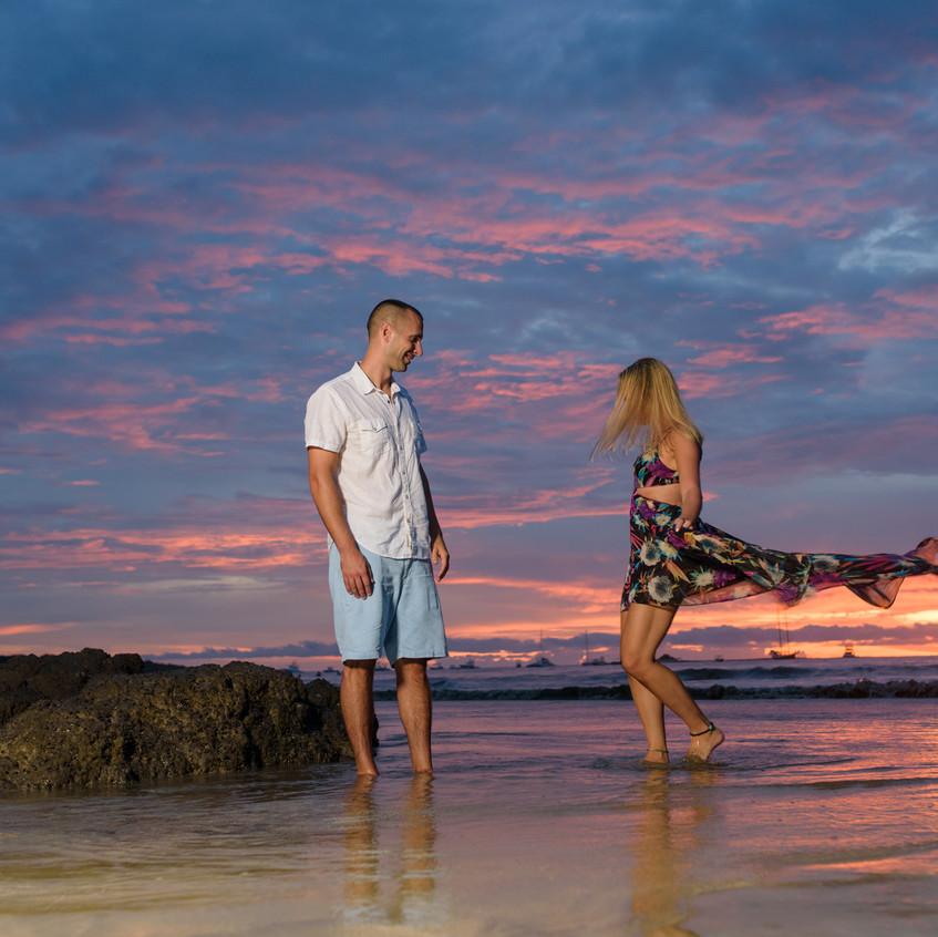 Couples photos idea in Tamarindo.
