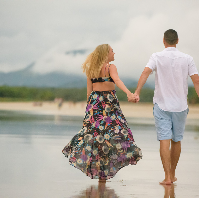 The perfect couples photoshoot in Tamarindo.