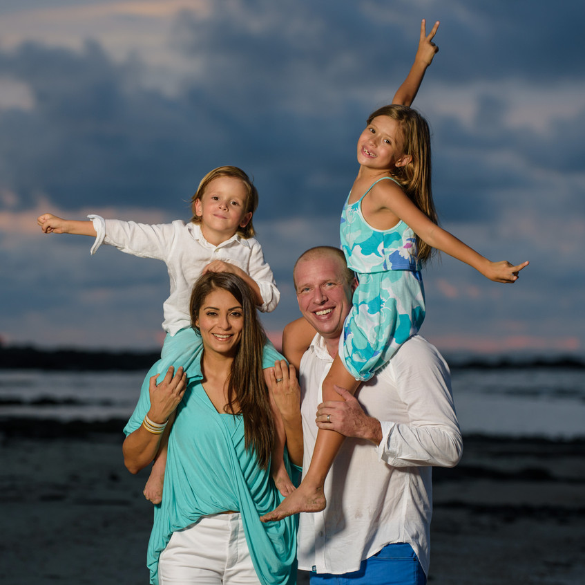 Amazing family photographer Tamarindo, Costa Rica.