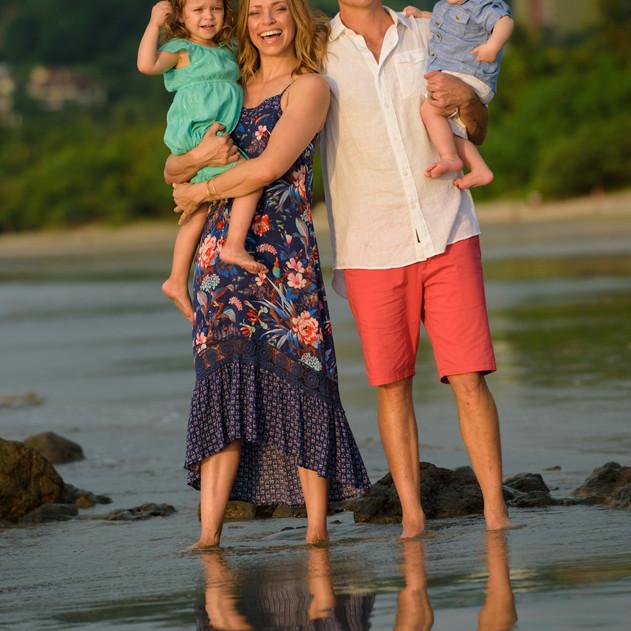 Family Photo Shoot in Tamarindo Costa Rica