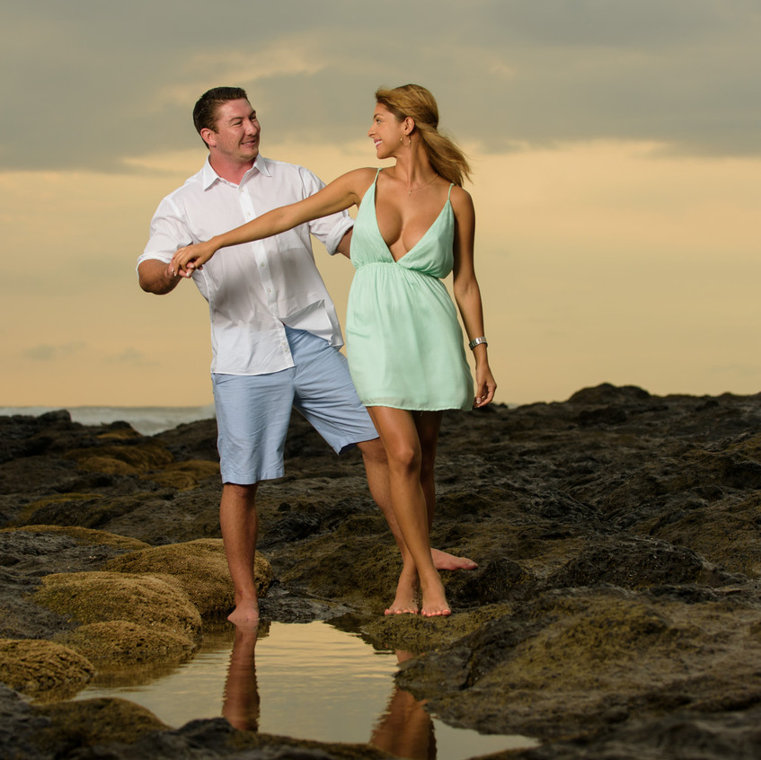 Best Costa Rica Engagement Photography