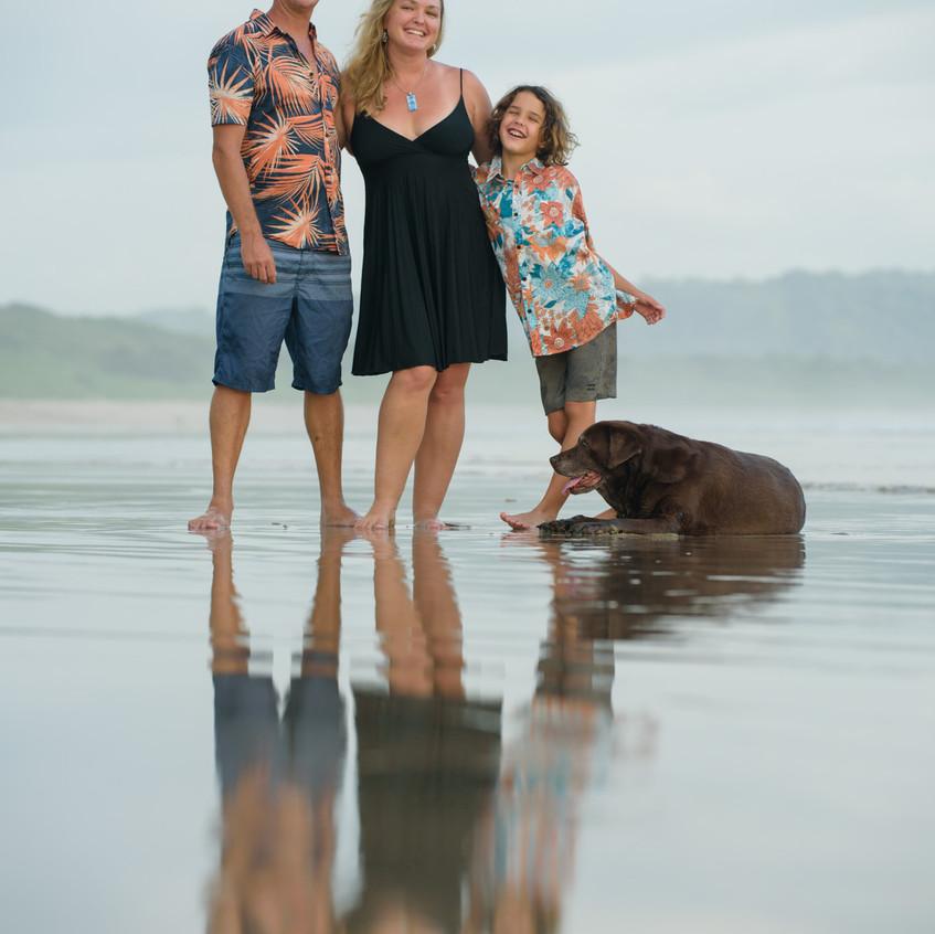 Family friendly Photo Shoot in Guanacaste, Costa rica