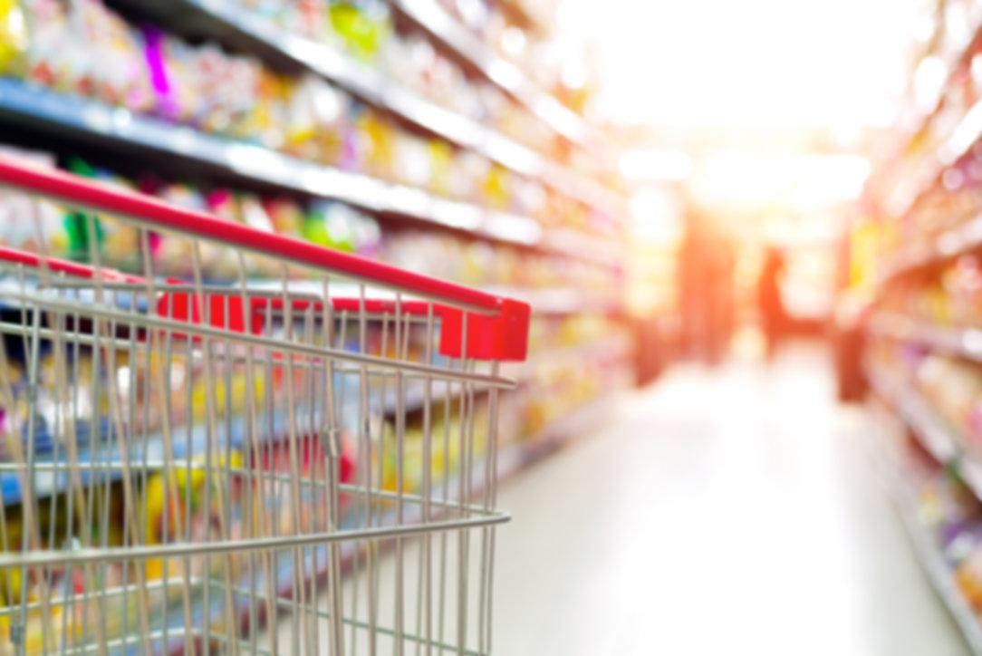 Inside the supermarket