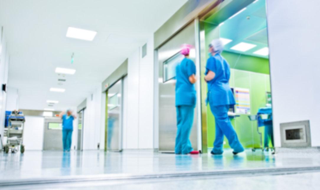 Inside the hospital