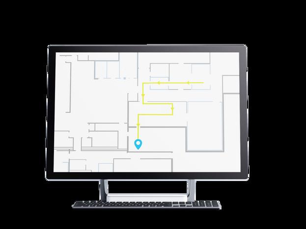 Step-by-step Indoor Navigation