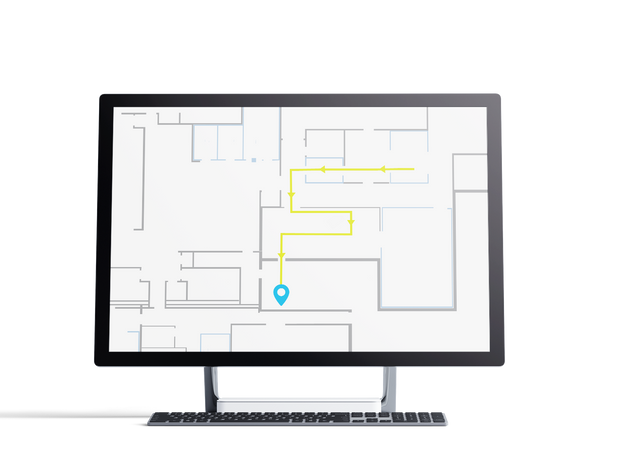 Step-by-step Indoor Navigation