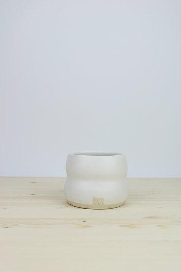 Cup  |  Curvy Matte White