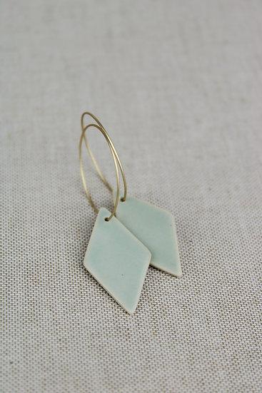 Earrings  |  Aqua Diamond