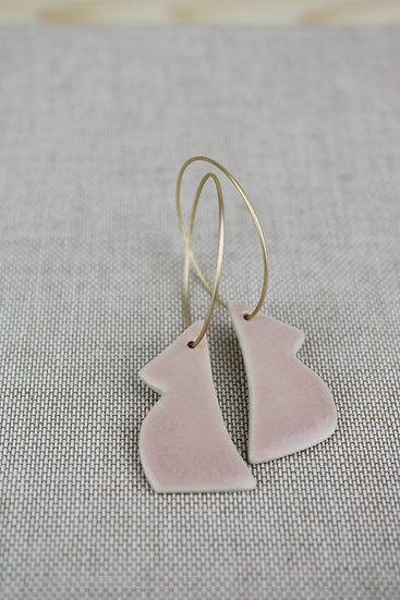 Earrings  |  Blush Pink Baby Mamas