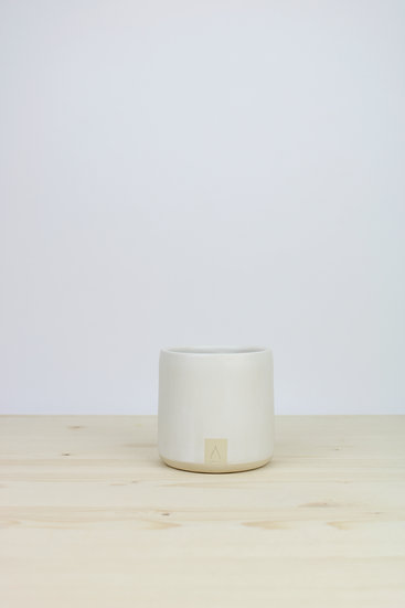 Cylinder Cup  |  Matte White