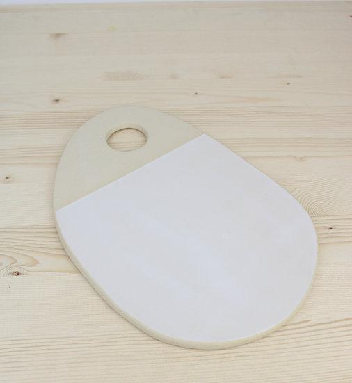 Appetizer Plate     Matte White