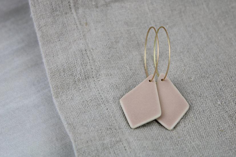 Earrings  | Pink Diamonds