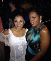 Backstage at the Tony Awards with Fantasia