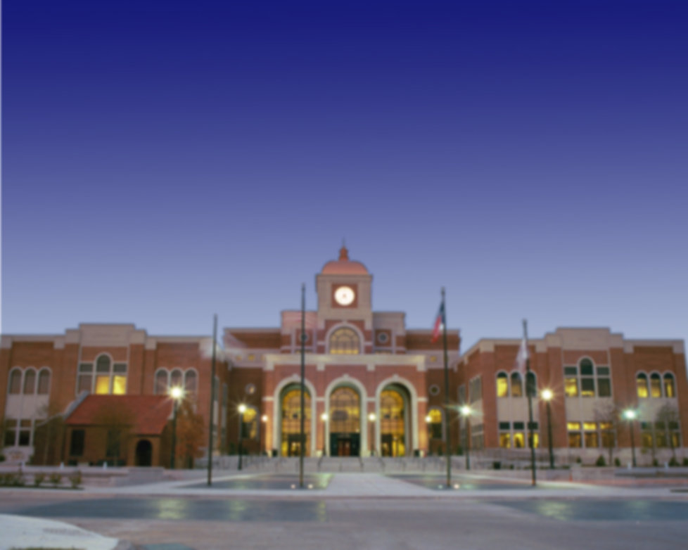 Lewisville City Hall at Evening.jpg
