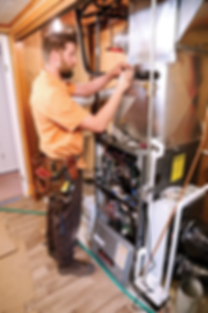 Prime AC and Heat Furnace Installation