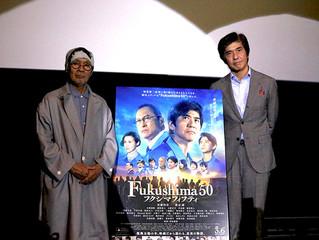 福島県に続き、熱い想いを名古屋へ!映画『Fukushima 50』特別試写会舞台挨拶に佐藤浩市・火野正平が登壇