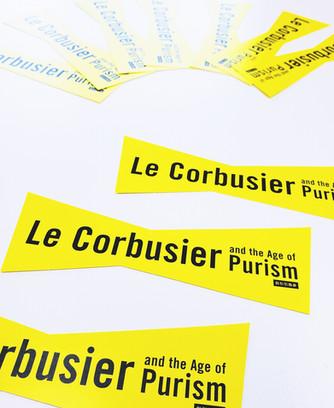 国立西洋美術館開館60周年記念『ル・コルビュジエ 絵画から建築へ−ピュリスムの時代』割引付きしおり