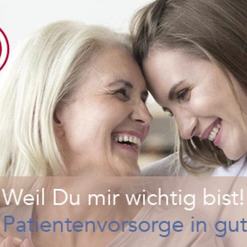 Gutscheincard Basisberatung Notfallvorsorge (Single)