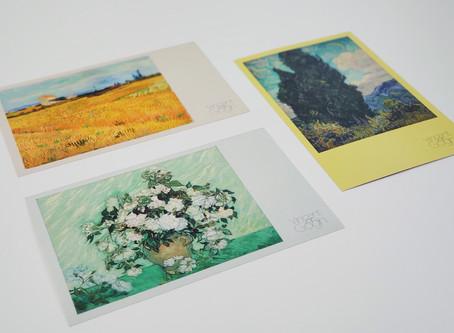 上野の森美術館「ゴッホ展」割引付きポストカード