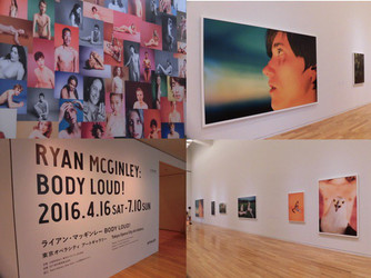 ★report★ 東京オペラシティ アートギャラリー『ライアン・マッギンレー展』