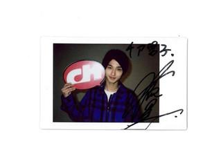 【プレゼント🎁】映画『チア男子』横浜流星 さんのサイン入りチェキを1名様にプレゼント!