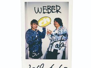 【プレゼント🎁】WEBERのHayatoさんTaka.さんサイン入りチェキを1名様にプレゼント!