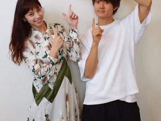 9/14(金)より公開の映画『3D彼女 リアルガール』にご出演の中条あやみさんと佐野勇斗さんにインタビュー!チェキプレゼントも