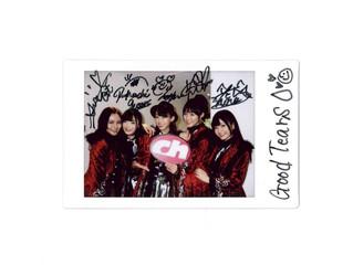 ラストアイドル プロジェクトで12月20日にデビュー!GoodTearsのメンバー5人のサイン入りチェキプレゼント!