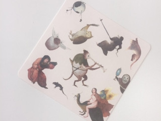 Bunkamuraザ・ミュージアム『ベルギー 奇想の系譜』割引券付きコースター(win*key coaster)