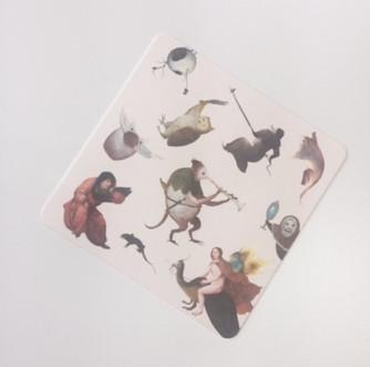 Bunkamuraザ・ミュージアム『ベルギー 奇想の系譜』割引券付きコースター