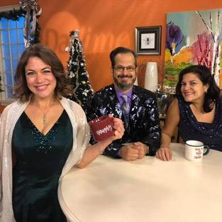 WFLA TV - Daytime Interview for Seasonal Sparkle with Mark Sforzini and Teresa Ancaya