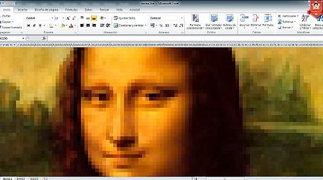 O Excel como Arte