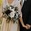 Thumbnail: Samantha Collection - midnight burgundy silk bridal bouquet