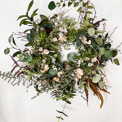 Hunter Collection - Fall Faux Wreath