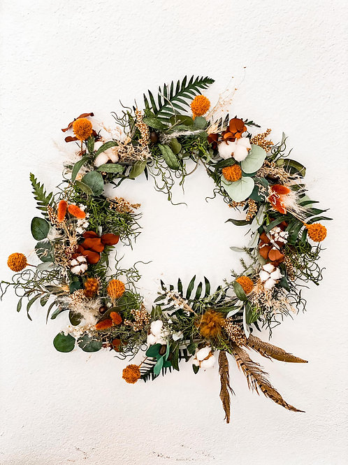 Lennox Collection - Dried fall wreath